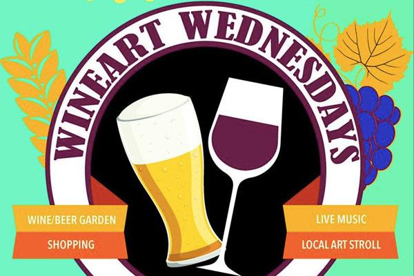 Wine Art Wednesdays Lake Mary