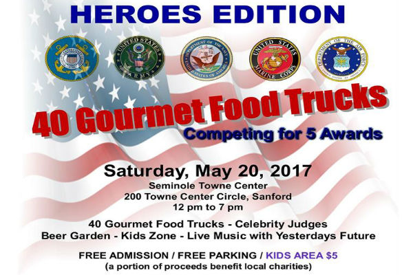 Food Truck Wars - My Heathrow Florida: Experience Seminole ... on emergency operations center, shopping center, satellite center,