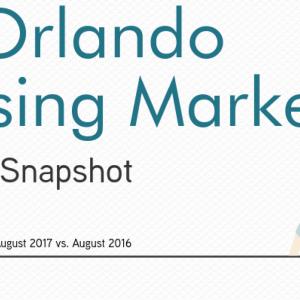 Orlando, FL Housing Market Report August 2017