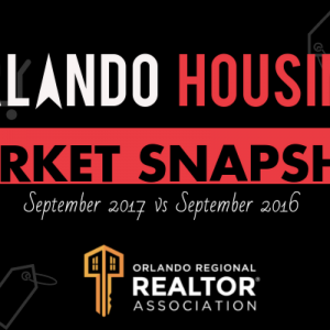 Orlando, FL Housing Market Report September 2017
